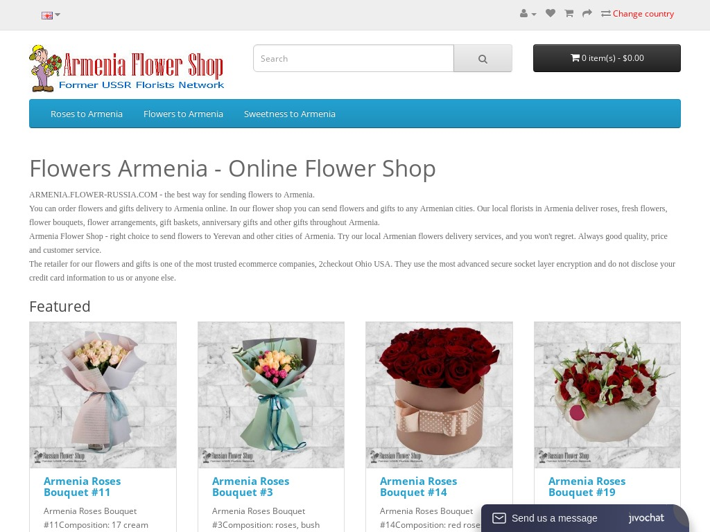 Details : Armenia flowers. Send flowers to Armenia. Flower delivery in Armenia.